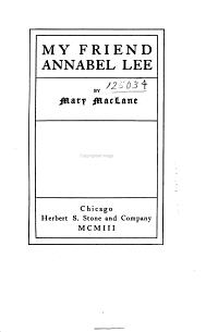 My Friend Annabel Lee PDF