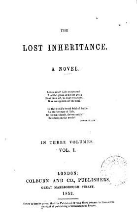 The Lost Inheritance PDF