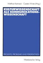Kulturwissenschaft als Kommunikationswissenschaft PDF