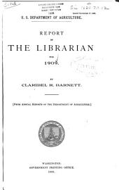 Report of the Librarian for ...