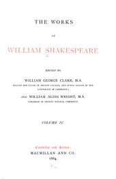 The Works of William Shakespeare: King John. King Richard II. The first and second parts of King Henry IV. King Henry V