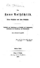 Das haus Rothschild: Bände 1-2