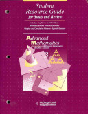Student Resource Guide Advanced Mathematics for Study and Review Book