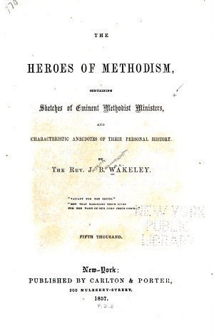 The Heroes of Methodism