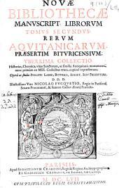 Nouae bibliothecae manuscript. librorum tomus primus: historias, chronica sanctorum sanctarumque vitas ..., Volume 2