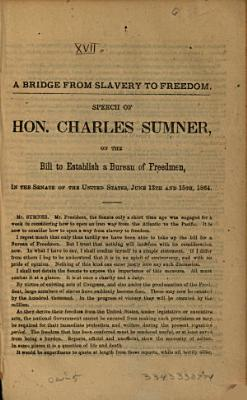 A Bridge from Slavery to Freedom