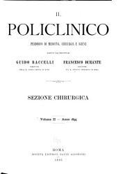 Il Policlinico: Sezione chirurgica, Volume 2