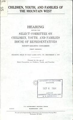 Children  Youth  and Families of the Mountain West