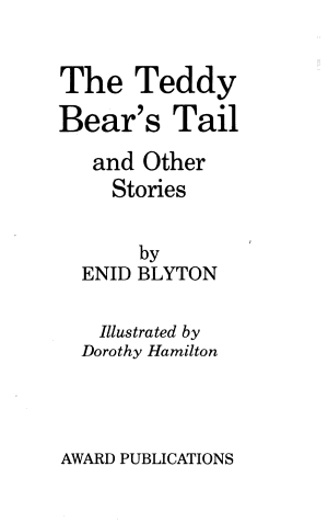 The Teddy Bear s Tail and Other Stories PDF