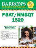 Barron s PSAT NMSQT 1520 Book