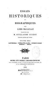 Essais historiques et biographiques