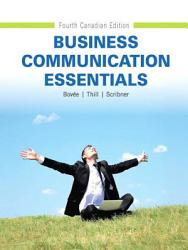 Business Communication Essentials Fourth Canadian Edition  Book PDF
