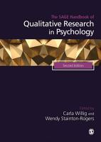 The SAGE Handbook of Qualitative Research in Psychology PDF