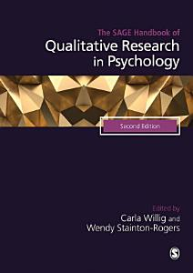 The SAGE Handbook of Qualitative Research in Psychology Book