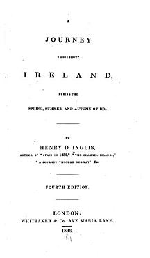A Journey Throughout Ireland  During the Spring  Summer  and Autumn of 1834 PDF