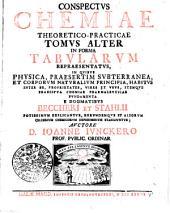 Conspectus chemiae theoretico-practicae