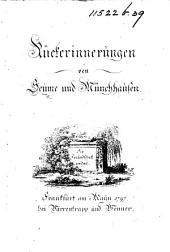 Rükerinnerungen von Seume und Münchhausen. [In verse.]