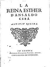 La reina Esther d'Ansaldo Cebà Astitit Regina