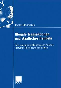 Illegale Transaktionen und staatliches Handeln PDF