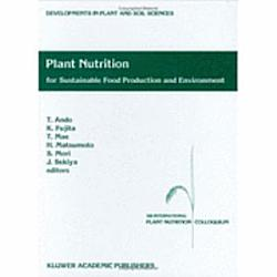 Plant Nutrition For Sustainable Food Production And Environment Book PDF