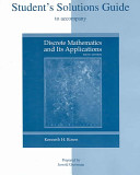 Student s Solutions Guide to accompany Discrete Mathematics and Its Applications PDF