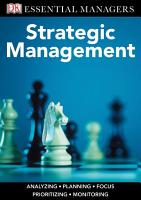 DK Essential Managers  Strategic Management PDF