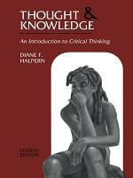 Thought and Knowledge PDF