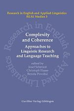 Complexity and Coherence: Approaches to Linguistic Research and Language Teaching