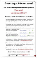 Download The Essential Campaign Diary Book