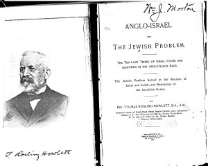 Anglo Israel and the Jewish Problem