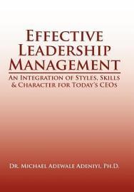 Effective Leadership Management