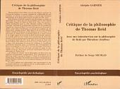 Critique de la philosophie de Thomas Reid: Avec une introduction sur la philosophie de Reid par Théodore Jouffroy