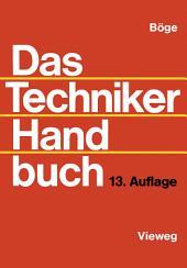Das Techniker Handbuch: Ausgabe 13