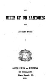 Les mille et un fantomes: Volume6