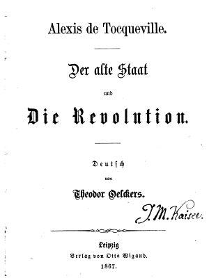 Der alte Staat und die Revolution PDF