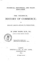 The Technical History of Commerce PDF