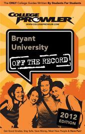 Bryant University 2012