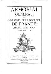Armorial général de la France ...