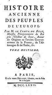 Histoire ancienne des peuples de l'Europe: Volume8