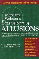 Merriam Webster s Dictionary of Allusions PDF