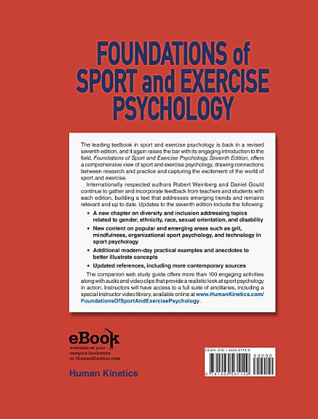 Foundations of Sport and Exercise Psychology, 7E