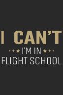 I Can't I Am in Flight School