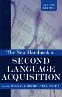 The New Handbook of Second Language Acquisition PDF