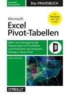 Microsoft Excel Pivot Tabellen     Das Praxisbuch PDF