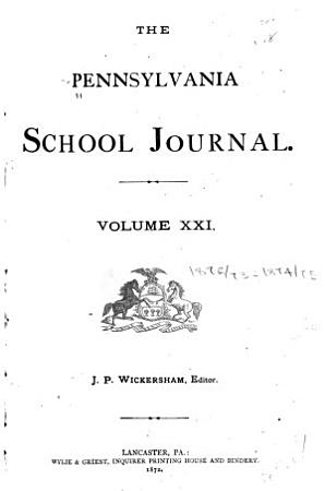 The Pennsylvania School Journal PDF