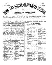 Berg- und Hüttenmännische Zeitung: Band 29