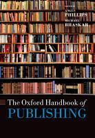 The Oxford Handbook of Publishing PDF