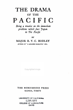 The Drama of the Pacific