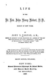 Life of the Rt. Rev. John Henry Hobart, Bishop of New York