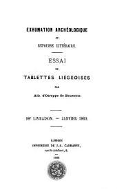 Exhumation archéologique et repousse littéraire